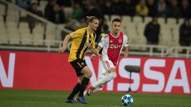 АЕК – Аякс – 0:2 – видео голов и обзор матча