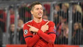 Лєвандовскі став 7-м гравцем, який забив 50 голів у Лізі Чемпіонів