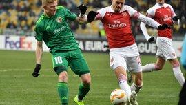 Ворскла – Арсенал – 0:3 – видео голов и обзор матча