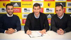 Уотфорд продлил контракт с главным тренером Грасией