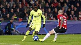 ПСВ – Барселона – 1:2 – відео голів та огляд матчу