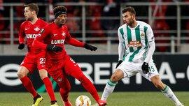 Лига Европы: Рапид вырвал победу над Спартаком и опустил россиян на третье место