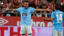 Аспас благодаря дублю в ворота Уэски возглавил список бомбардиров Ла Лиги