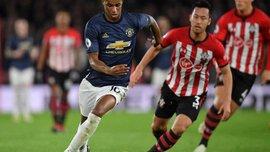 Манчестер Юнайтед и Саутгемптон разошлись результативной ничьей: 14 тур АПЛ, матчи субботы
