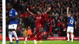 Ліверпуль – Евертон: курйозний гол Оріджі після фейлу Пікфорда