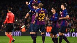 Барселона – Вильярреал – 2:0 – видео голов и обзор матча