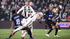 """Ювентус – Интер: """"бьянконери"""" – сильнейшие в Италии, худший матч Икарди и рекордное тренерское поражение Спаллетти"""