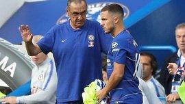 Саррі: Челсі щотижня обговорює новий контракт Азара з його агентами
