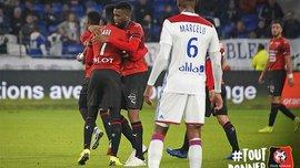 Лион – Ренн – 0:2 – видео голов и обзор матча