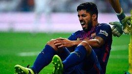 Барселона обеспокоена проблемами Суареса с коленом