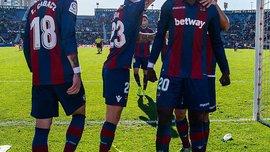Луго Кравця не зміг пройти Леванте у Кубку Іспанії