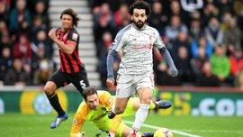Борнмут – Ливерпуль: Салах забил шикарный гол, поиздевавшись над голкипером и защитниками
