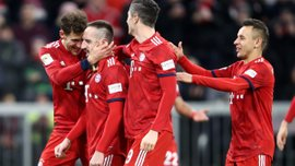 Бавария – Нюрнберг – 3:0 – видео голов и обзор матча