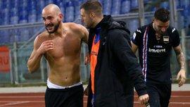 Сапонара забил сумасшедший гол в стиле Ибрагимовича – игрок едва не потерял нижнее белье во время празднования