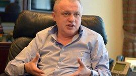 Суркис: Призываю болельщиков поддержать на Олимпийском две украинские команды – и Динамо, и Шахтер