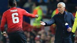 Моурінью пояснив, чому Погба втратив місце в основі Манчестер Юнайтед