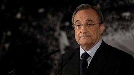 Перес не смог досмотреть игру Реала против Уэски до конца и покинул стадион