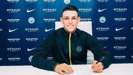 Фоден підписав новий довгостроковий контракт з Манчестер Сіті