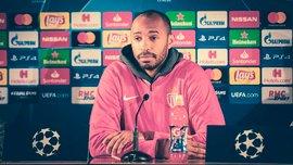 Монако – Борусія Д: Анрі на прес-конференції показово навчив гравця монегасків правилам етикету