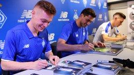 Цыганков, Вербич и Бущан приняли участие в автограф-сессии для болельщиков Динамо