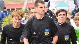 Арбитр Соловьян, которого выводили из Дома футбола в наручниках, сотрудничал с полицией и ФФУ