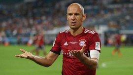 Роббен не допоможе Баварії до кінця року