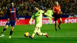 Леванте – Барселона – 0:5 – видео голов и обзор матча