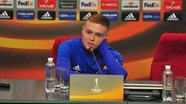 Цыганков вошел в топ-3 лучших молодых игроков группового этапа Лиги Европы, – Whoscored