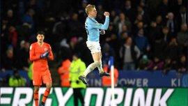Зінченко реалізованим пенальті вивів Манчестер Сіті у півфінал Кубка Ліги – відео вирішального удару українця
