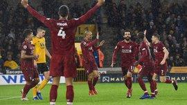 Вулверхэмптон – Ливерпуль – 0:2 – видео голов и обзор матча
