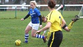 Курьезный гол из мира женского футбола – это полный провал