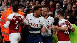 Арсенал та Тоттенхем оштрафують за неспортивну поведінку гравців