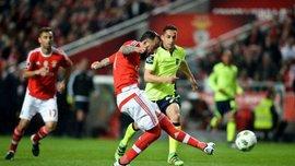 Португалия: Бенфика уничтожила Брагу в матче за зону Лиги чемпионов