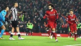 Ліверпуль – Ньюкасл – 4:0 – відео голів та огляд матчу