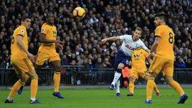 Кейн забил эффектный гол в ворота Вулверхэмптона