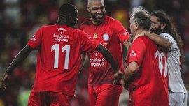 Зико организовал благотворительный матч в Бразилии – участие приняли Винисиус, Кака, Адриано и Жуниор
