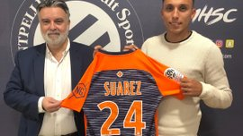 Монпельє підписав уругвайського захисника Матіаса Суареса