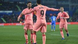 Хетафе – Барселона –1:2 – видео голов и обзор матча