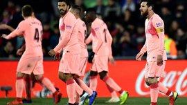 Хетафе – Барселона: обидное поражение хозяев, противоречивый день Месси и шикарная игра голкиперов
