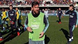 Мессі забив елегантний гол на тренуванні Барселони