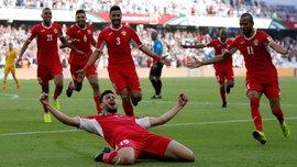 Кубок Азії-2019: Палестина в меншості втримала нічию з Сирією, Австралія сенсаційно поступилася Йорданії