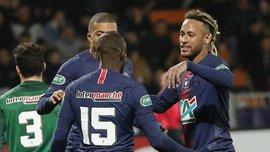 ПСЖ отдал премиальные за проход в 1/16 финала Кубка Франции клубу из 5-го дивизиона, которого победил