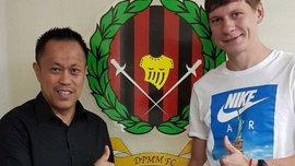 Экс-форвард Динамо Воронков переехал в чемпионат Сингапура – там уже выступает украинец