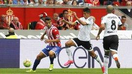 Спортінг обіграв Валенсію у матчі Кубка Іспанії