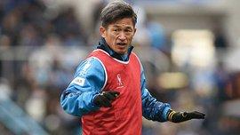 51-летний форвард Йокогамы Миура продлил контракт с клубом – вдохновляющая история