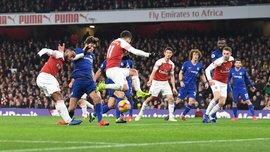 Арсенал – Челси – 2:0 – видео голов и обзор матча
