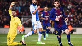 Барселона – Леганес – 3:1 – видео голов и обзор матча