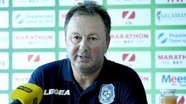 Червенков повідомив, що на перегляді в Чорноморці перебувають 8 футболістів