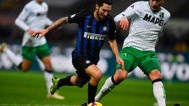 Интер и Сассуоло расписали сухую ничью: 20-й тур Серии А, матчи субботы