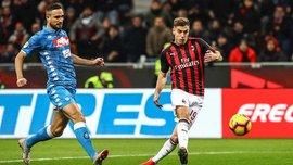 Мілан переміг Наполі та вийшов у півфінал Кубка Італії: перші голи Пйонтека, тактична примітивність та фактор Доннарумми